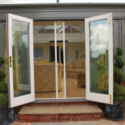 Sliding insect screen for patio door