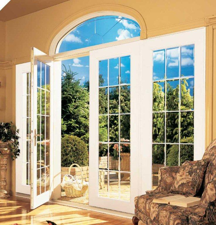 Patio door windows classic windows roofing for Patio doors with side windows